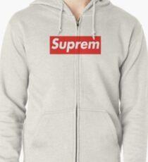 Suprem Supreme Zipped Hoodie