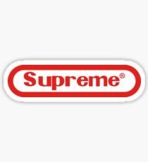Nintendo Supreme Sticker