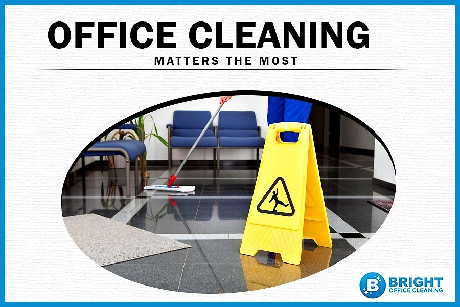 Office Cleaning Matters the Most by BrightOC