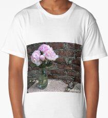 Love peonies  Long T-Shirt