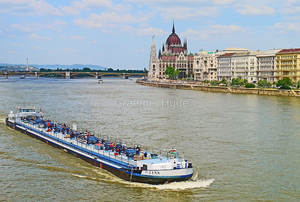 Lynn on the Danube by Graeme  Hyde