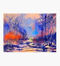 watercolor 523 Photographic Print