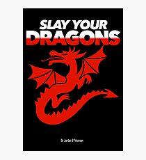 Töte deine Drachen (Red2) Fotodruck
