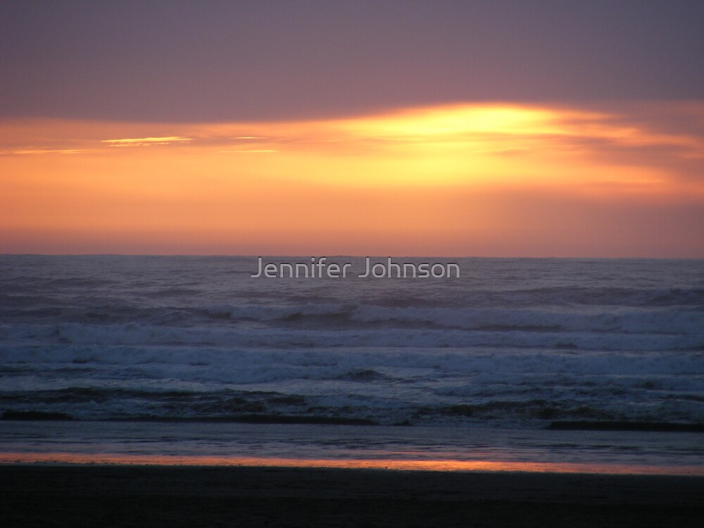 sunset by Jennifer Johnson