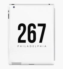 Philadelphia, PA - 267 Area Code iPad Case/Skin