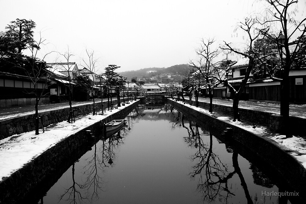 Kurashiki Bikan in Winter by Harlequitmix