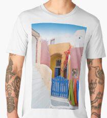 Unique Santorini architecture Men's Premium T-Shirt