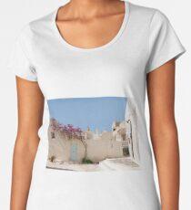 Unique Santorini architecture Women's Premium T-Shirt