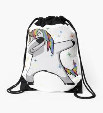 Original Unicorn Dab  Drawstring Bag