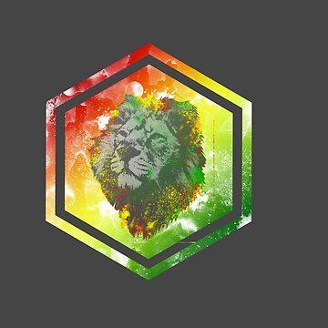 Rasta Lion Galaxy by psychmario