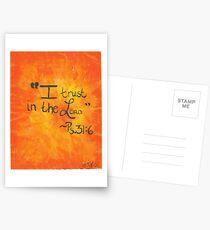 Psalm 31:6 Postcards