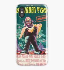 Forbidden Planet, vintage sci-fi movie poster iPhone Case/Skin