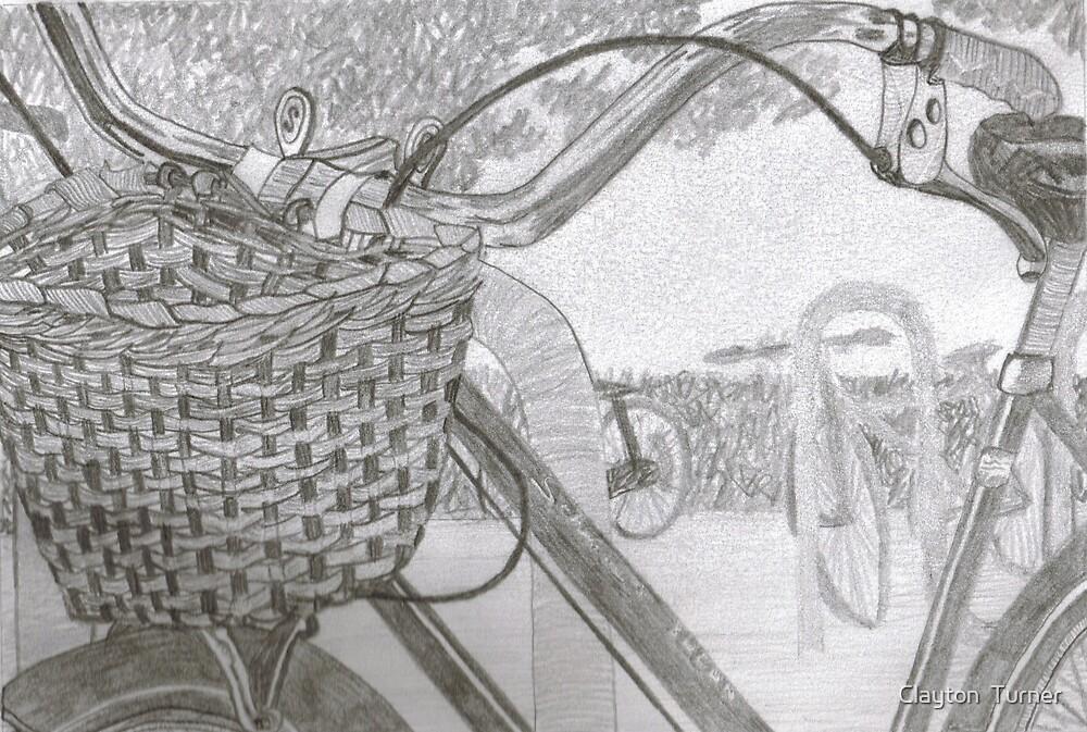 """Basket"" in graphite by Clayton  Turner"
