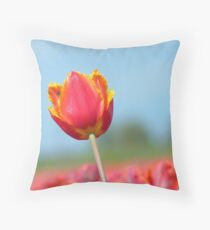 Eternal Life... - Tulip - NZ Throw Pillow