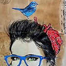 BLUE SPECS by Loui  Jover