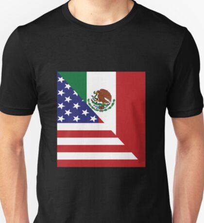 Mexican America Flag T-Shirt