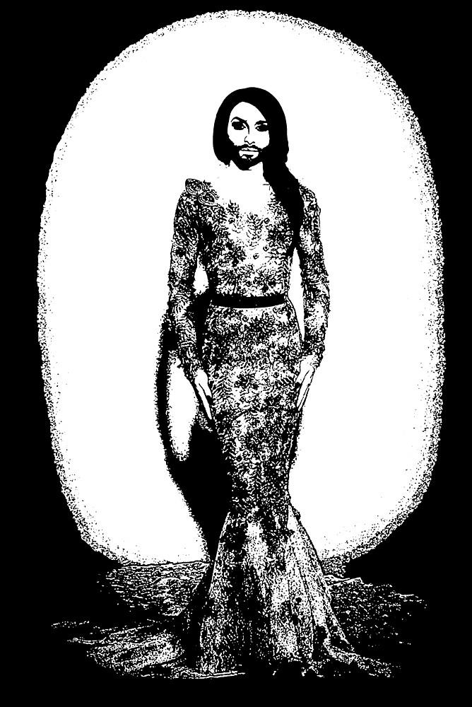 Conchita Wurst - Style Icon by jeremydwilliams
