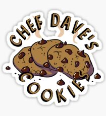 Chef Dave's Cookies Sticker