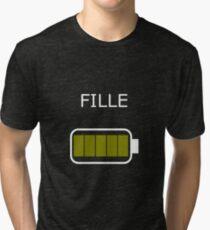 fille Tri-blend T-Shirt