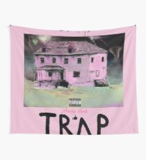 pretty girls like trap music Wall Tapestry
