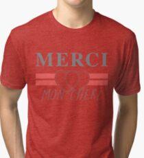 Top Shop Merci Mon Cheri Shirt Tri-blend T-Shirt