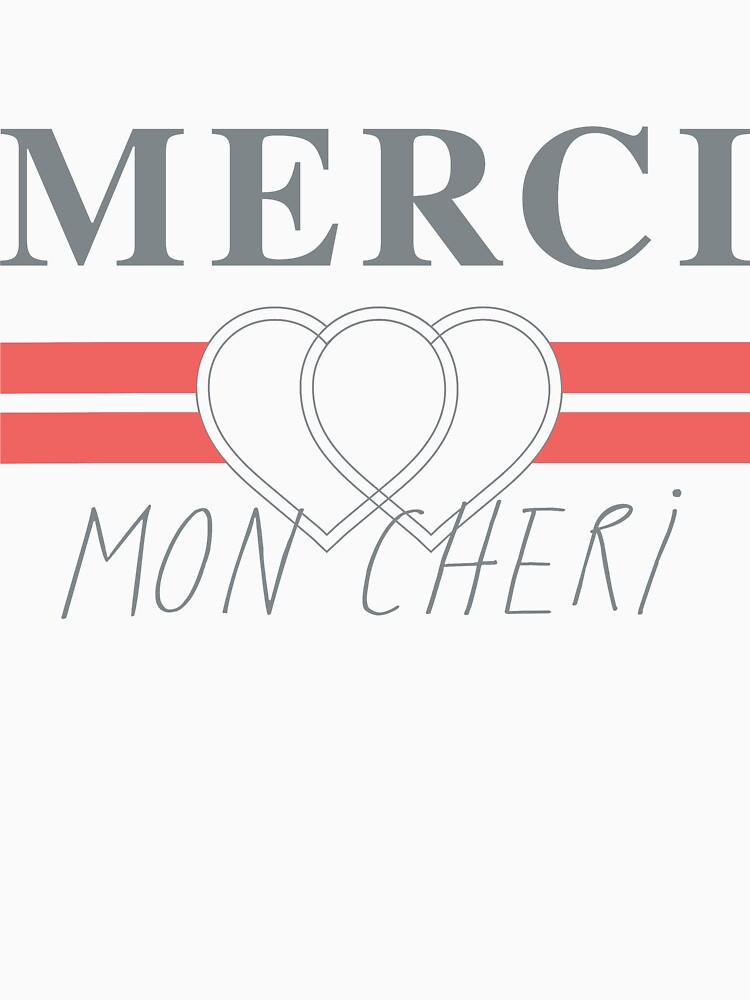 Top Shop Merci Mon Cheri Shirt by jgmorga3