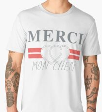 Top Shop Merci Mon Cheri Shirt Men's Premium T-Shirt