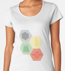 Catan Logos Women's Premium T-Shirt