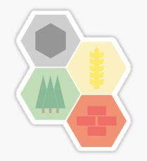 Catan Logos Sticker