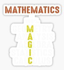 Mathematics Magic Sticker
