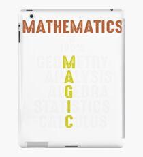 Mathematics Magic iPad Case/Skin