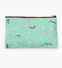 Playful Scribbles #redbubble #decor #buyart Studio Pouch