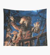 The curse of the Pirate Wall Tapestry