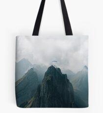 Flying Mountain Explorer - Landscape Photography Tote Bag
