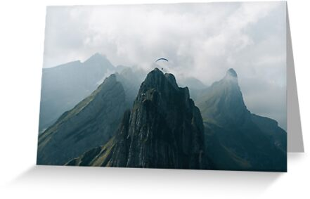 Flying Mountain Explorer - Landscape Photography by Michael Schauer