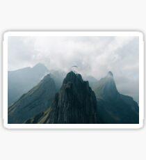 Flying Mountain Explorer - Landscape Photography Sticker