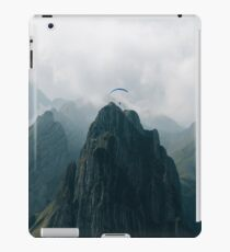 Flying Mountain Explorer - Landscape Photography iPad Case/Skin