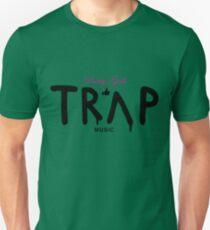 Pretty Girls Like Trap Music - Pink & Black Unisex T-Shirt