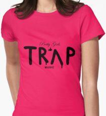Pretty Girls Like Trap Music - Black T-Shirt
