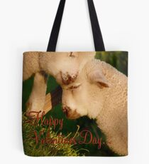 Happy Valentines Day - Lambs - NZ Tote Bag