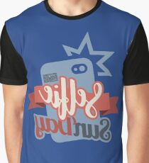 Selfie Sunday Fun Pictures Camera Weekend Everyday Graphic T-Shirt