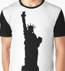 American Statue of Liberty  Graphic T-Shirt