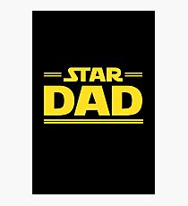 Star Dad Photographic Print