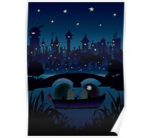 Quot Hedgehogs In The Night Quot Tote Bags By Mangulica Redbubble