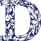 Margin Letter - D (Large) by Biotoho