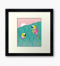 tropical vibes Framed Print
