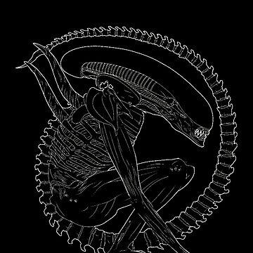 Alien Xenomorph by zkramer