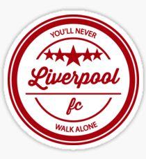 Liverpool FC You'll Never Walk Alone Sticker