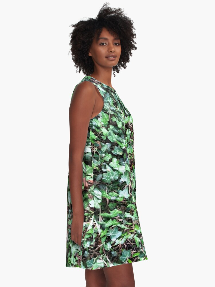 Alternate view of Tangled Ivy Bed A-Line Dress