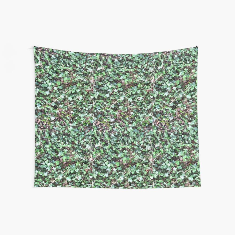 Tangled Ivy Bed Wall Tapestry